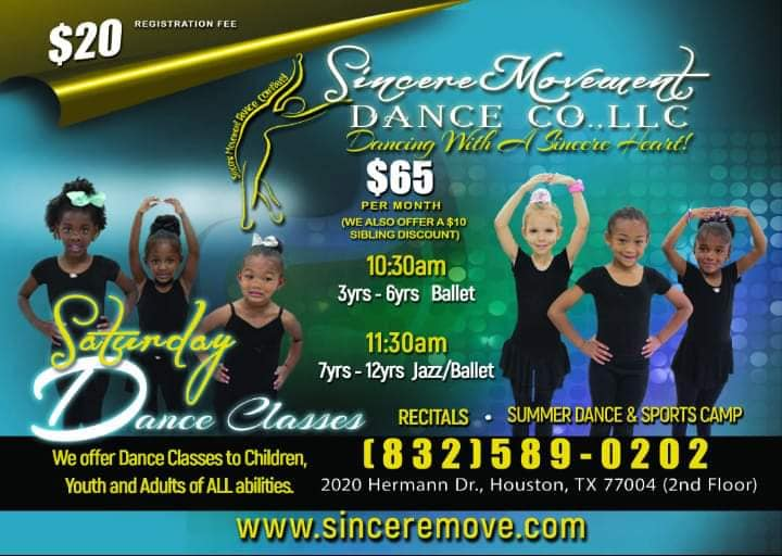 Sincere Movement Dance Company, LLC.