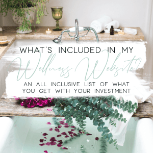 whats included in my wellness website