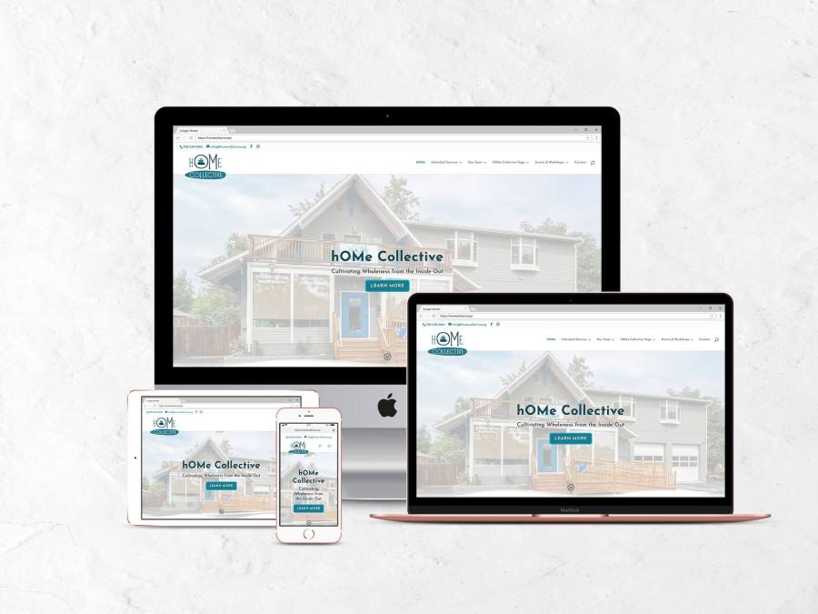 hOMe Collective Website Redesign