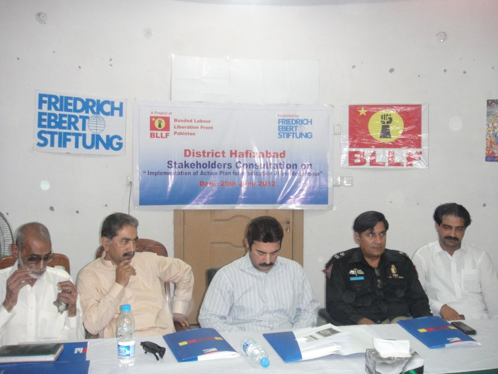 FES -BLLF Consultation At District Hafizabad
