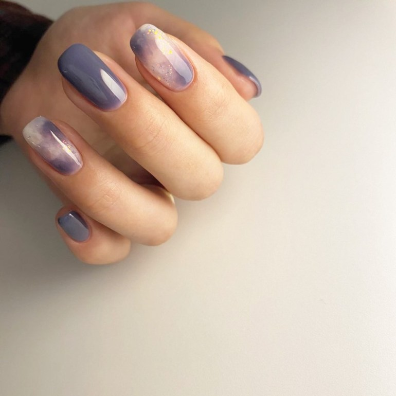 At-Home Manicure: Watercolour Nails