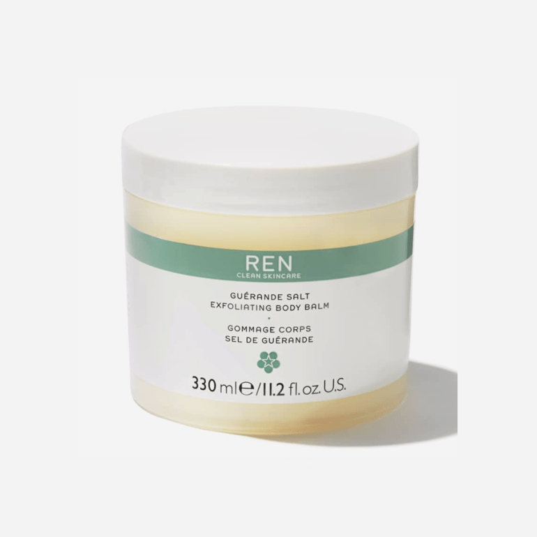 Face & Body Scrubs For Smoother Skin   REN Guerande Salt Exfoliating Body Balm