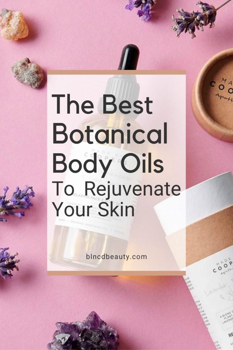 Rejuvenating Botanical Body Oils