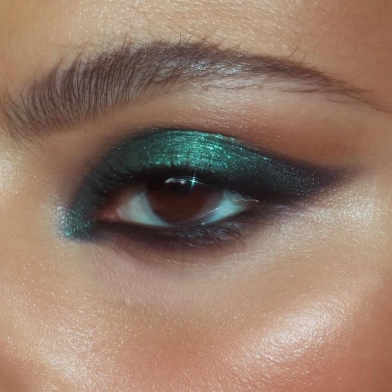 Shimmer Eye Makeup Look