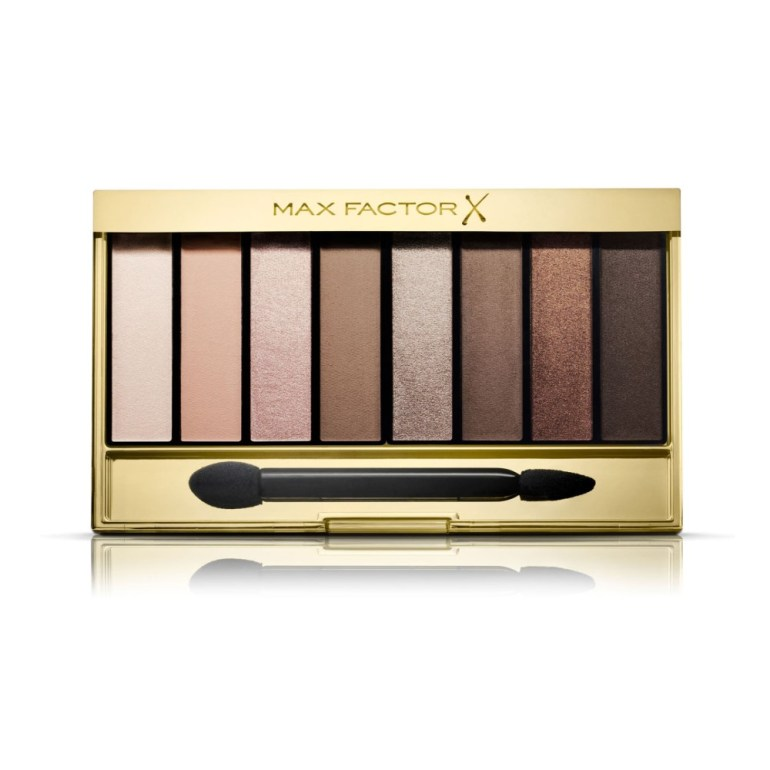 Neutral Eyeshadow Palettes For Every Budget: Max Factor Masterpiece Nude Palette in Cappuccino Nudes