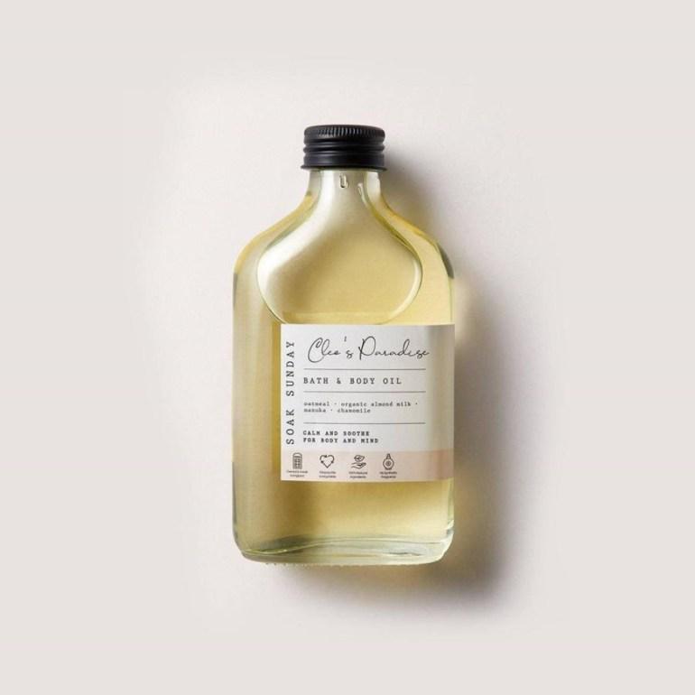 Soak Sunday Cleo's Paradise Botanical Bath & Body Oil 200ml (£14)