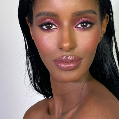 Berry Colours Makeup Trend: How To Wear Pretty Pinks - Makeup By Mario | Model Senait Gidey