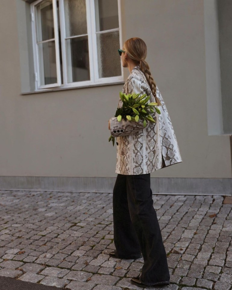 Wide-Leg Jeans: Blogger & Stylist Tine Andrea
