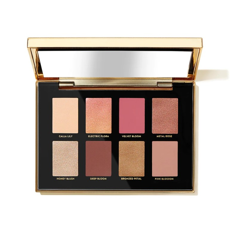 Bobbi Brown Luxe Metal Rose Eye Shadow Palette Shades