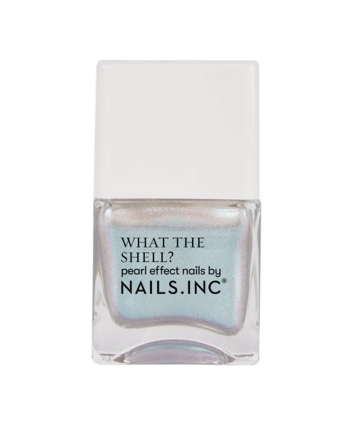 Nails.INC What the Shell Let's Take a Shelfie Top Coat