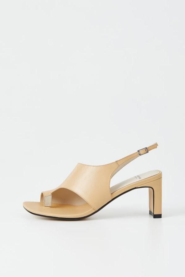 Vagabond Luisa Leather Sandals - Beige
