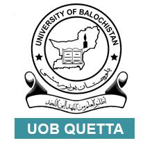 UOB Quetta Past papers