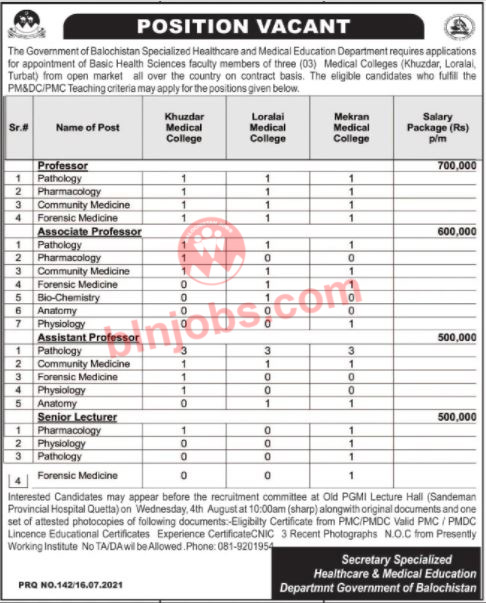 Specialized Healthcare Medical Education Department Jobs 2021