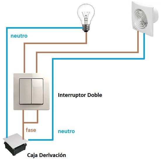 Como poner un interruptor a un extractor de aire para ser
