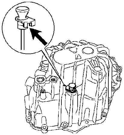 Nivel de valvulina caja de cambios laguna 2 fase1, pk6