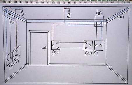 Cmo instalar un conmutadorenchufe  Electricidad del
