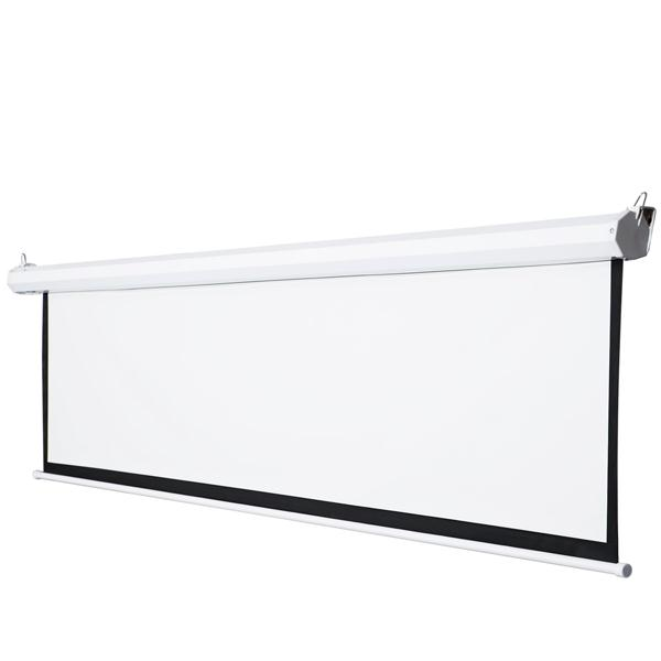 Electrical Screen For Projectors With RF Remote, 295x215cm
