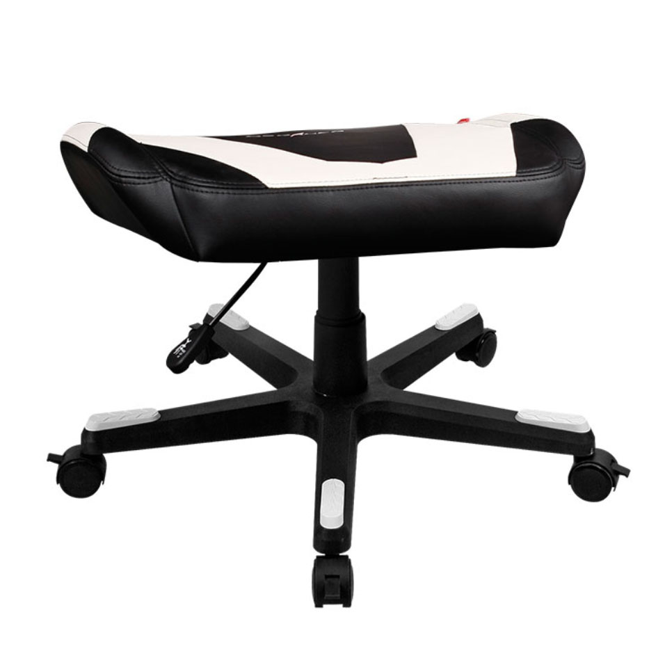 DXRacer Footrest  BlackWhite Blink Kuwait