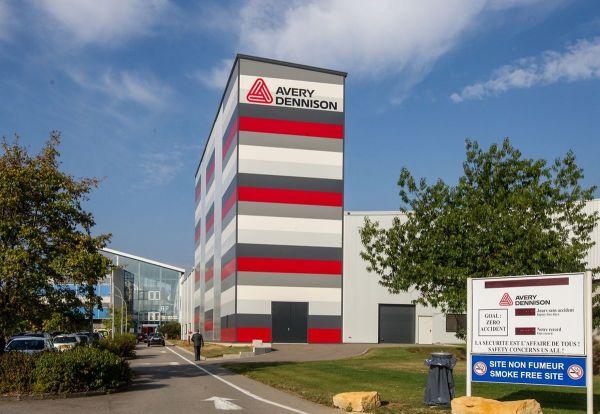 Avery Dennison Rodange 58 Millions Euros Investissement
