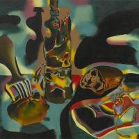 Naturaleza muerta con zapato viejo (Joan Miró, 1937)