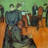 Muerte en la habitación (Munch, 1895)