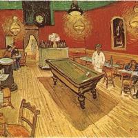Café nocturno en Arles (Van Gogh, 1888)