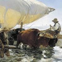 la vuelta de la pesca (Sorolla, 1894)