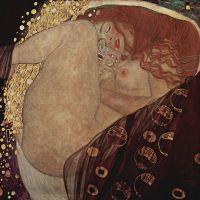 Danae (Gustav Klimt, 1907)