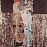 las tres edades de la mujer (Klimt, 1905)