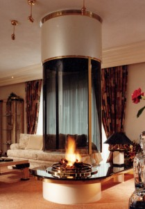 Round Fireplaces Circular Fireplaces Contemporary