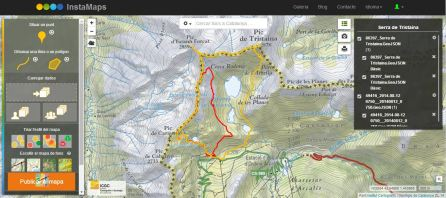 Mapa InstaMaps