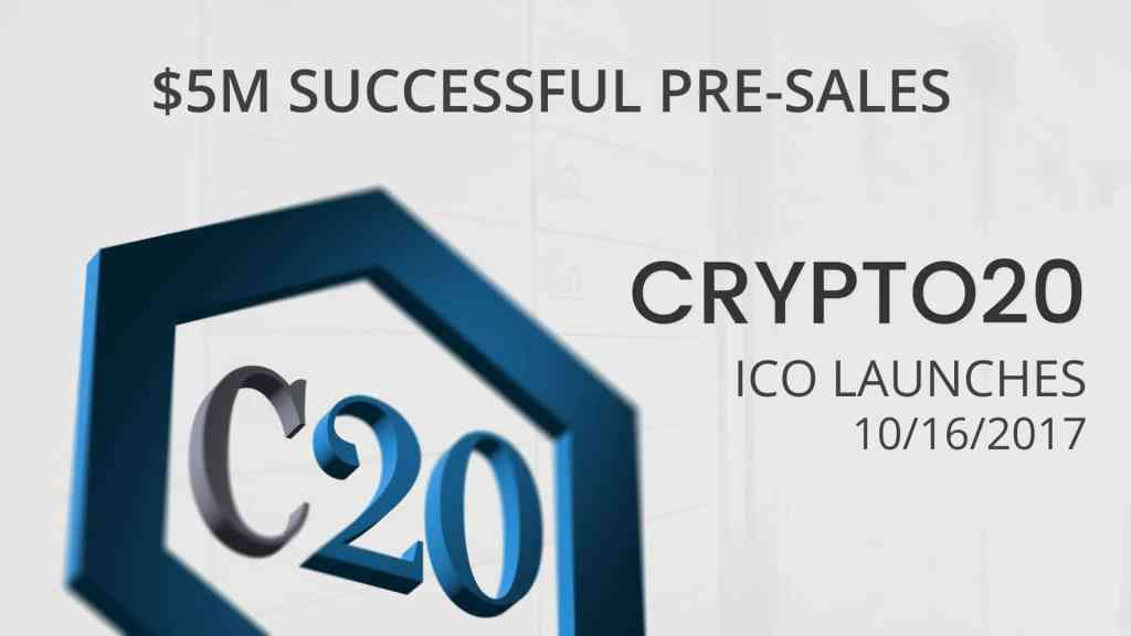 CRYPTO20 ICO Launch