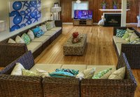 Cottage Large Living Room - Blockade Runner Beach Resort