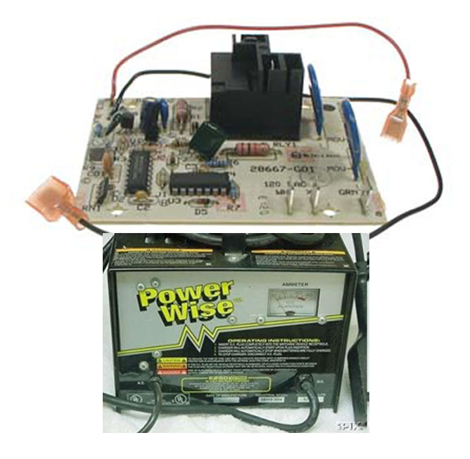 control board ezgo golf cart powerwise chargers most