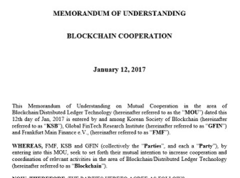 First meeting of the Korean-German Blockchain Working Group in Munich on Apr 7