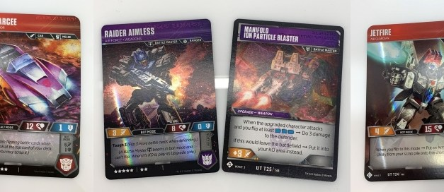 Transformers TCG: Jet Blue Deck List