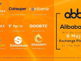 Alibabacoin Will Be Listed On 9 Major Exchange Platforms At The Same Time