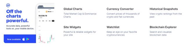 coinmarketcap-tools