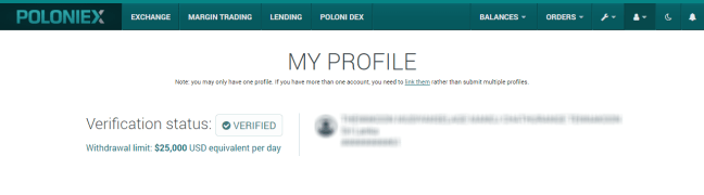 poloniex-verification