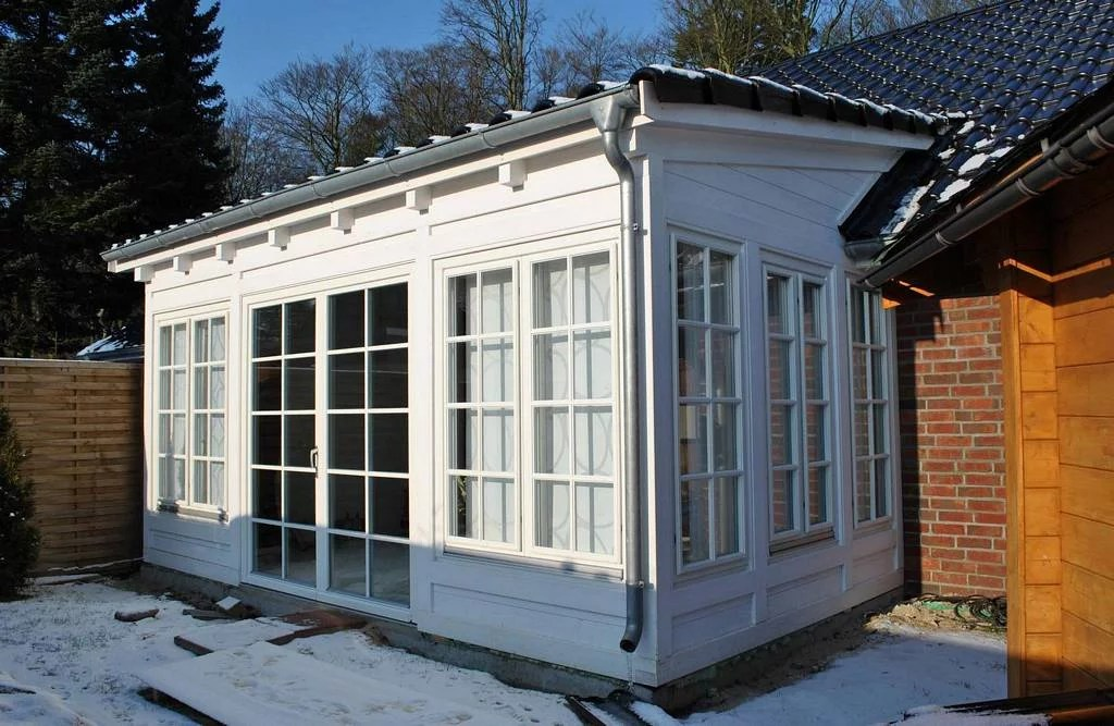 Top Wintergarten Anbau Gemauert | Sliding-plantation-shutters-garage CM26