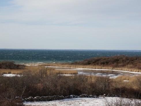 Off season view of the ocean