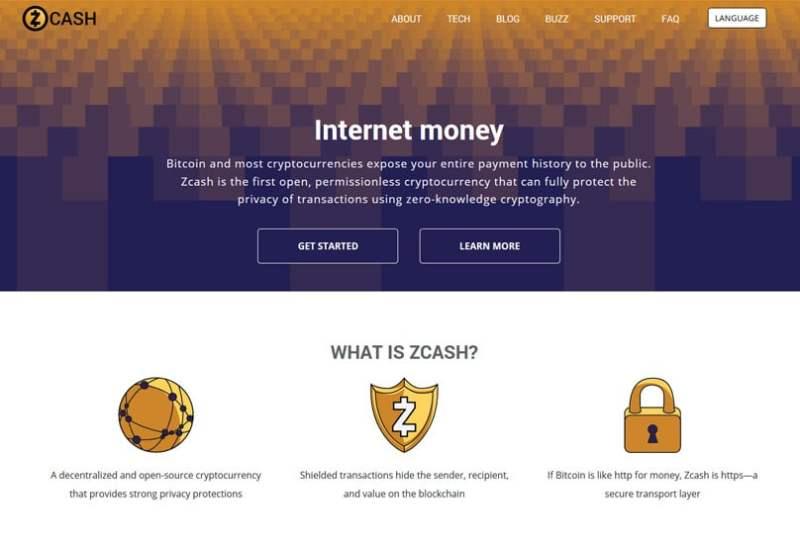 ZCash Website