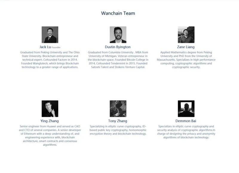 Wanchain Team