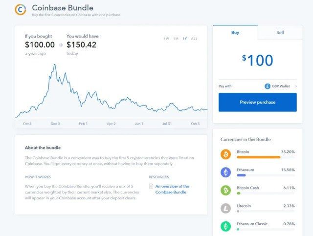 Bundle Coinbase