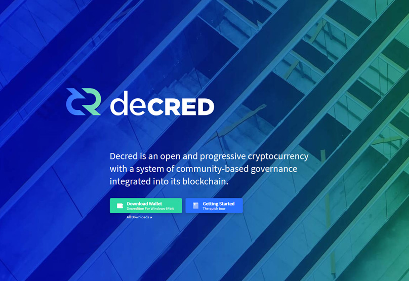 Decred Website