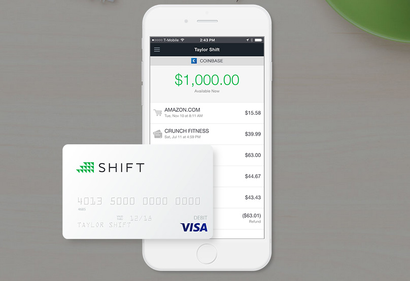 Shift VISA Card