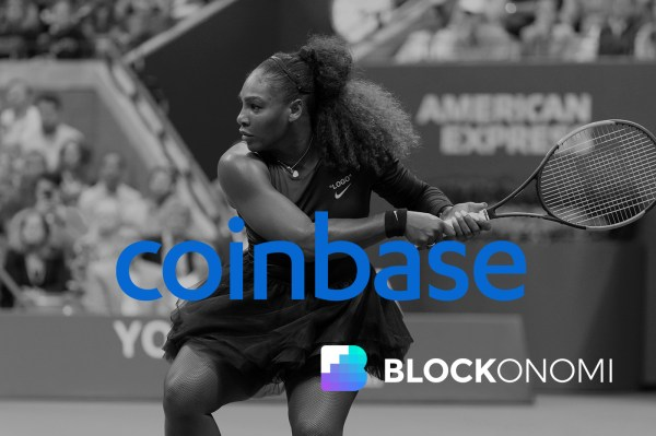 Serena Williams Quietly Funds Coinbase