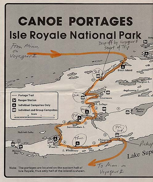 Isle Royale National Park – Indian Portage Trail