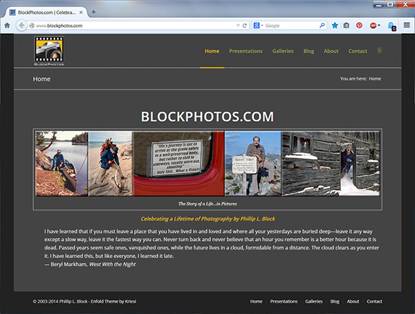 BlockPhotos.com Home Page