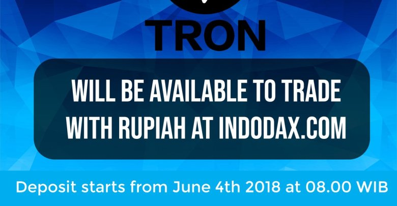 Tron Expands to Indonesia, Pairing TRX with Rupiah